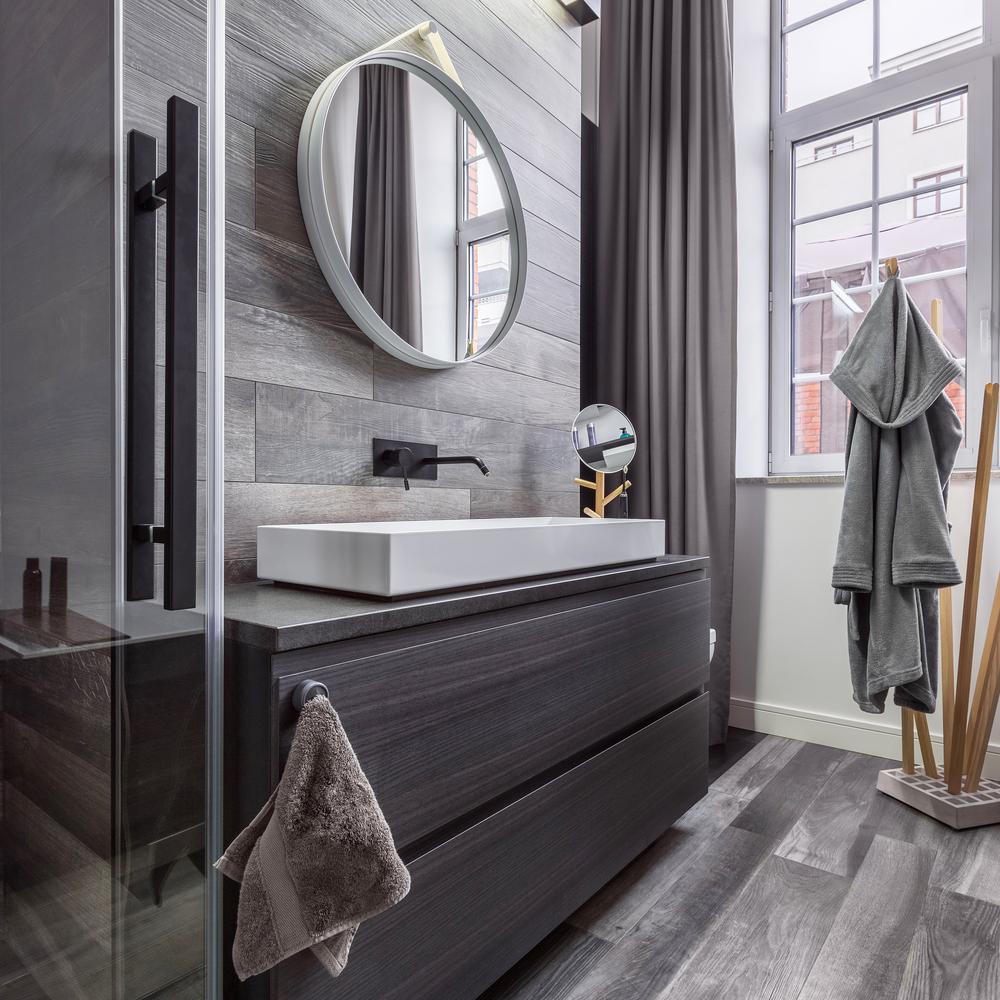 Wood Look Tile Bathroom Franklin Flooring